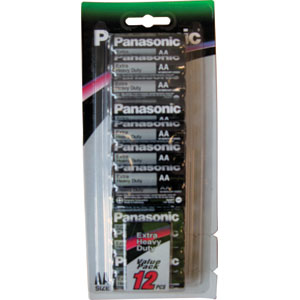 PANASONIC AA BATTERY EXTRA HEAVY DUTY (12PK)
