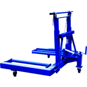 HYDRAULIC TRUCK WHEEL DOLLY 750KG / 1650LB CAP.