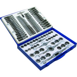 110PC UNC/UNF/METRIC TAP & DIE SET