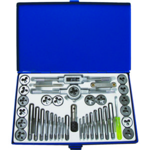39PC COMPACT TAP AND DIE SET (METRIC & SAE)