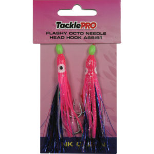 TacklePRO Flashy Octopus Assist Hook - Pink  2pc