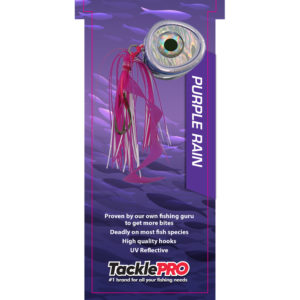 TacklePro Kabura Lure 100gm - Purple Rain