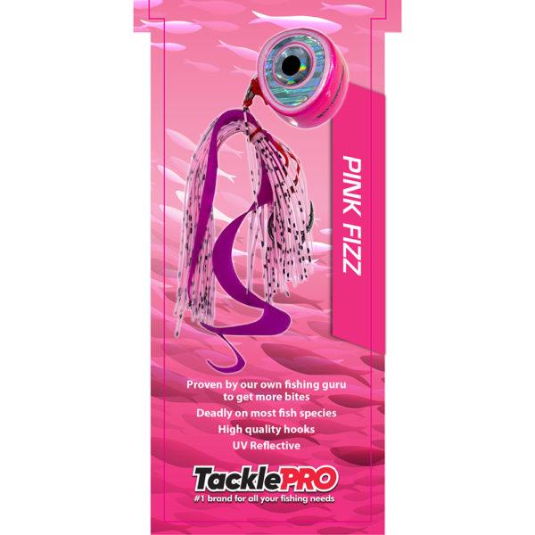 TacklePro Kabura Lure 40gm - Pink Fizz