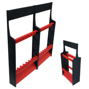 ProMarine Expandable Rod Rack - Red