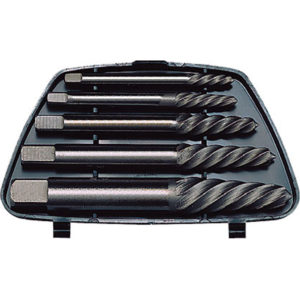 TENG 5PC SCREW EXTRACTOR SET - ROUND SHANK