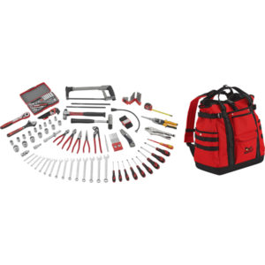TENG 144PC TOOL KIT W/TCSB BACKPACK TOOLBAG