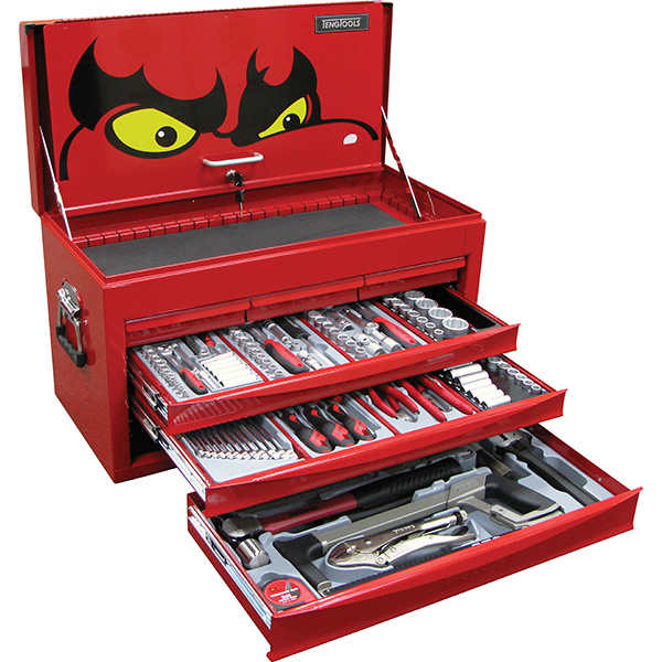152PC TENGTOOLS MM/AF STARTER TOOL KIT (SV)