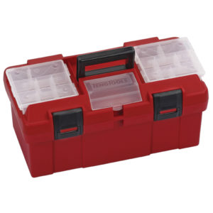 TENG PLASTIC HANDY TOOL BOX (W/STORAGE)