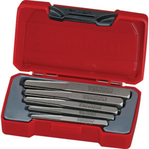 TENG 5PC SCREW EXTRACTOR SET - SQUARE SHANK