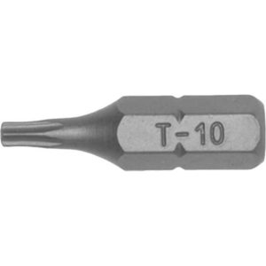 TENG 3PC 1/4IN HEX TPX40 BIT X 25MM (L)