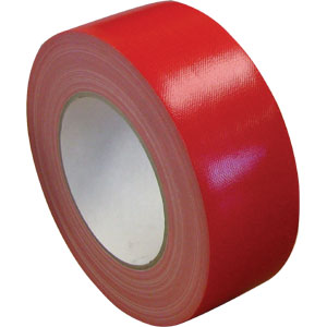 Waterproof Cloth Tape Premium 48mm x 30m - Red