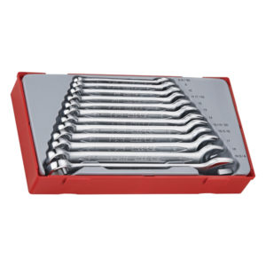 12PC ROE COMBINATION SPANNER SET 8-19MM
