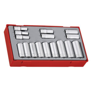 16PC 3/8IN DR. DEEP SOCKET SET 7-22MM