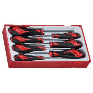 7PC MD SCREWDRIVER TORX (TX/TPX) SET