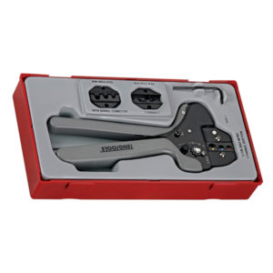 4PC RATCHET CRIMPING TOOL SET