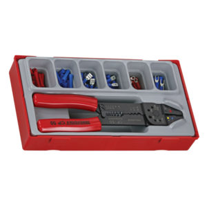 121PC CRIMPING SET W/TERMINALS
