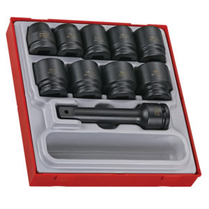 16PC 3/4IN DR. IMPACT SOCKET SET