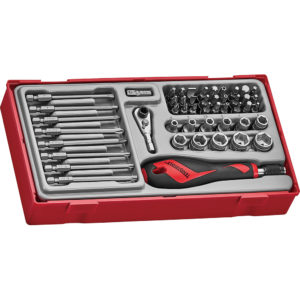 Teng 49pc MD Bits & Socket Set - TC-Tray