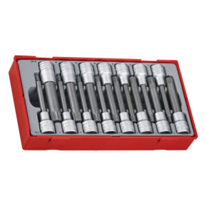 15PC 1/2IN DR. 100MM RIL/SPL BITS SOCKET SET