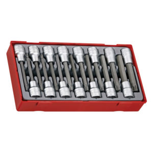 15PC 1/2IN DR. TORX & HEX LONG BITS SOCKET SET