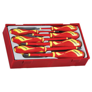 7PC MEGA DRIVE 1000V VDE SCREWDRIVER SET