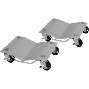 VEHICLE WHEEL DOLLIES 680KG (1500LB) PAIR