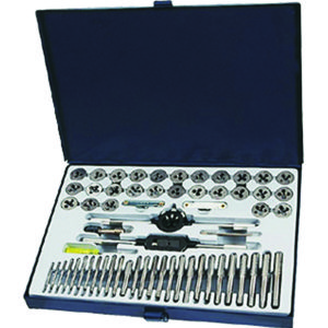 60PC UNC/UNF/MF/MC TAP & DIE SET
