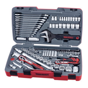 TENG 127PC 1/4IN-3/8IN-1/2IN DR. MM SKT & TOOL SET